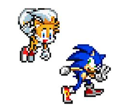 """Sonic And Tails - Miles """"Tails"""" Prower Photo - Fanpop Sonic The Hedgehog, Hedgehog Movie, Sonic Advance 3, Sonic 25th Anniversary, Marvel Cross Stitch, Sonic Unleashed, Game Sonic, Mundo Dos Games, Sonic Mania"""