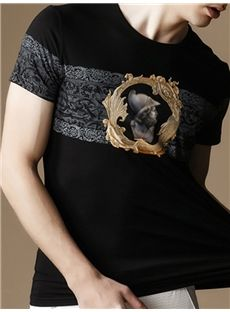 Silk Cotton Men T-Shirt
