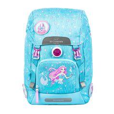 af39f5b1d Classic 22 litre, Mermaid 1st grade backpack - Beckmann Norway