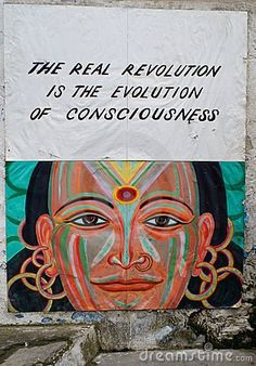 Revolution = Evolution of Consciousness... Say it like it is Sister . . . .