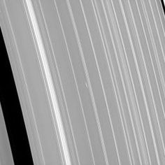 NASA's Cassini spacecraft has been monitoring propeller features such as Bleriot since their discovery. The bright dash-like features are regions where a small moonlet has caused ring particles to cluster together more densely than normal.