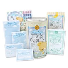 Milestone Collection Baby's Time Capsule. Get yours at www.timecapsule.com