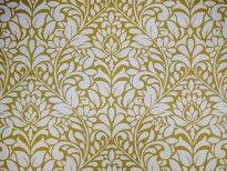 Ruskin pistachio cotton curtain fabric