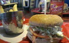 California Chicken Burger from RED ROBIN.