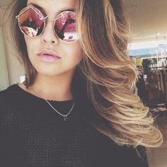 Creative  sunglasses :) Find your perfect sunglasses at http://www.smartbuyglasses.com/designer-sunglasses/general/-Women----------------------?utm_source=pinterest&utm_medium=social&utm_campaign=PT post