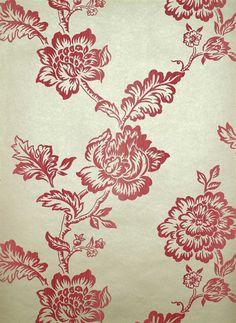 Linwood Fabrics_LW014 / 5 Pompeian_Wallpaper