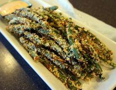 Crispy Baked Green Bean Fries Recipe