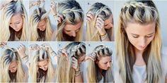 прически дома на средние волосы своими руками: 26 тыс изображений найдено в Яндекс.Картинках