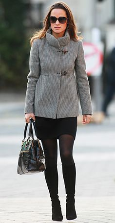 Oh, Pippa.  Why can't I have your clothing budget?