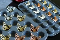 How to make the butterflies 3D