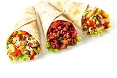 Bean Sprouts and Veggie Wraps - Cope with Cancer Beef Wraps, Veggie Wraps, Bean Sprouts, Tex Mex, Fajitas, Fresh Rolls, Recipies, Veggies, Menu