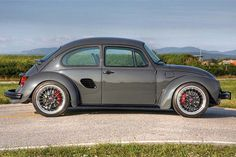 What do you get when you mix a 2000 Porsche Boxster S with a 1973 Volkswagen Beetle? Porsche Boxster, Boxster S, Porsche 911 996, Vw Super Beetle, Volkswagen New Beetle, Volkswagen Karmann Ghia, Volkswagen Transporter, Vw Bugs, Fusca German Look