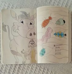 Best disney art drawings doodles wreck this journal Ideas Wreak This Journal Pages, Wreck This Journal, Bullet Journal Art, Art Journal Pages, Journal Inspiration, Journal Ideas, Create This Book, Personalized Books, Smash Book