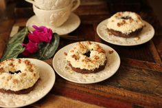 Gluten Free German Chocolate Donuts