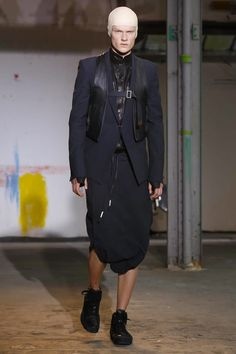 Boris Bidjan Saberi, Menswear, Spring Summer, 2015, Fashion Show in Paris http://blog.cruvoir.com/boris-bidjan-saberi-spring-summer-2015-runway/