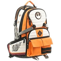 Star Wars Rebel Pilot Laptop Backpack ! Get yours here ➩➩       http://amzn.to/2qwZg8f