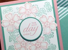 Birthday Blossoms, Stampin' Up!, Candy Ford
