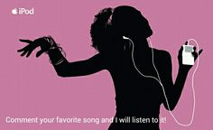 Comment! What every the song is I promise I'll listen to it :D