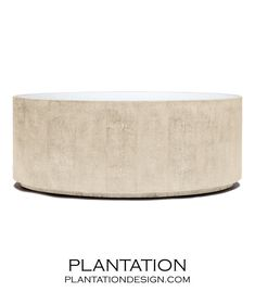 Hilson Oval Coffee Table | Ivory......coffee table downstairs
