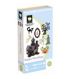 Cricut Shape Cartridge Happy Hauntingnull
