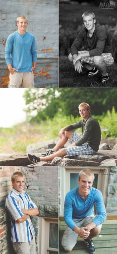 Joey | Sturgeon Bay Senior Photography » Door County, Sturgeon Bay, De Pere, Wisconsin, Natural Light Photography » Ana Claire Photography