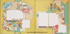 Vintage Bliss 2 page layout (Medium)