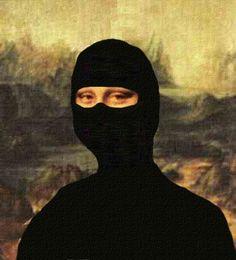 mona lisa ninja
