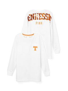 I have to have this!!! University of Tennessee Bling Varsity Crew PINK