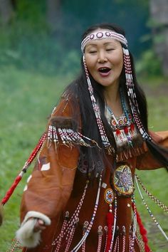 Russia The Itelmen are the original settlers of the Kamchatka Peninsula which is opposite Alaska. You may therefore notice similar ethnicity to the First Nation peoples. @ http://fashion.allwomenstalk.com