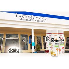 Früzinga is now available at the @eastongymco located in Manhattan Beach! Check them out at your next work out