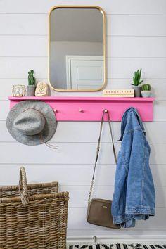 DIY Wall Coat Rack - Handmade Haven