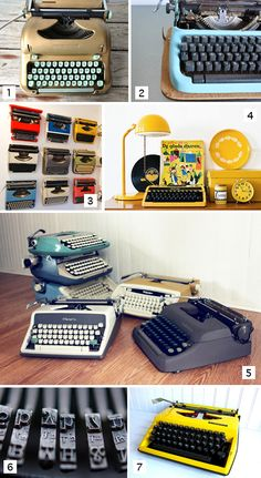 typewriter love!