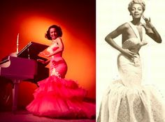Zelda Winn Valdez made a significant contribution to the world of fashion, beginning in the1940's when she opened her own shop and began designing for many of the leading black women of the day, including the beautiful Dorothy Dandridge pictured last on our slide show. She made dresses and pantsuits that were curve hugging and sexy, and caught the eye of Hugh Hefner who eventually commissioned her to design the now famous Playboy bunny suits.