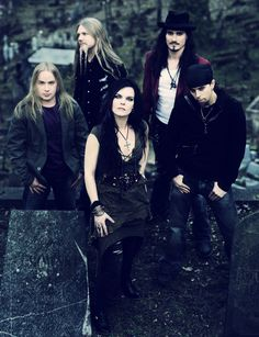 Nightwish with Anette.  I miss Tarja, but she's doing so well on her own, and Anette is pretty talented!