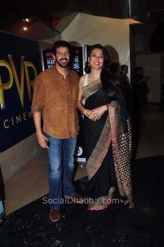 Kabir Khan with wife Mini Mathur at the Special screening of movie 'David'-1754708818.JPG (997×1500)