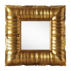 Gold Leaves Mirror