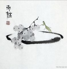 Art is a journey into the most unknown thing of all - oneself. Sumi E Painting, Japan Painting, Chinese Painting, Asian Artwork, Art Asiatique, Art Japonais, China Art, Zen Art, Traditional Paintings