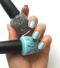 OPI I Believe in Manicures - Breakfast at Tiffany's Collection 2016