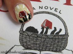 Manicures to match your readings: The Storied Life of A.J. Fikry by Gabrielle Zevin by nitelitebookreviews, via Flickr