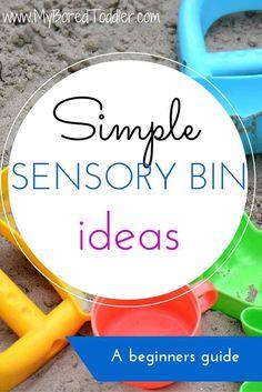 simple sensory bin i