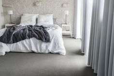 #Balsan #design #interior #interiors #decor #decoration #ideas #color #carpet #modern #Creativity #flooring #artistic #home #inspiration #flooring #textile #white #blanc #room #bedroom #bed #gris #gray