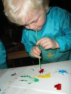 Vinden jouw (oppas)kinderen het ook zo leuk om lekker met verf te kliederen?