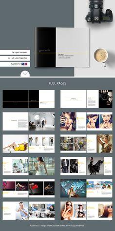 Portfolio / Photobook - Brochures  #Photobook #template# lookbook #Instagram  #overlay #DIY #storyboard #collage #family #memories #travel #birthday #album #broshure