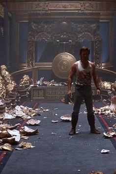 Kurt Russell in John Carpenter's 'Big Trouble in Little China' (1986)