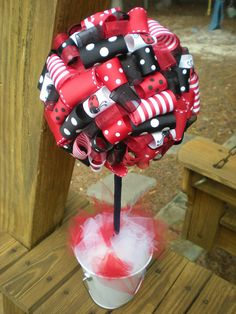ladybug balloon centerpieces | Notions from Nonny: Lady Bug Theme Party