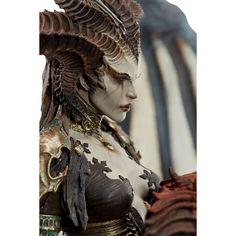 "Diablo Lilith 24.5"" Premium Statue Female Werewolves, Female Demons, Diablo Lilith, Diablo Cosplay, Necromancer, Horror Art, Creature Design, Sabbats, Call Her"
