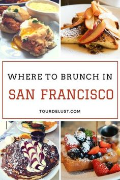 What's better than a Sunday brunch? A Sunday brunch in San Francisco of course.