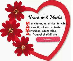 8 Martie, Message Card, Diy And Crafts, Messages, Cards, School, Text Posts, Playing Cards, Maps