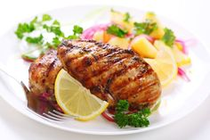 Replace soy sauce with coconut aminos to make paleo Weight Watchers Grilled Jalapeno Chicken Dinner Recipe Grilled Chicken Recipes, Easy Chicken Recipes, Recipe Chicken, Marinated Chicken, Balsamic Chicken, Balsamic Vinegar, Hcg Recipes, Healthy Recipes, Easy Recipes