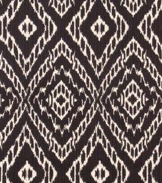 Upholstery Fabric Robert Allen- Strie Ikat - Storm